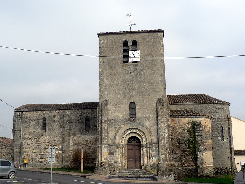 Photo du Monument Historique Eglise Saint-Martin situé à Glénay