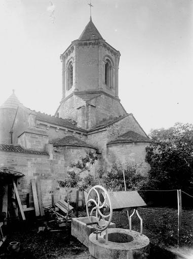 Photo du Monument Historique Eglise Saint-Jean-l'Evangéliste situé à Marigny