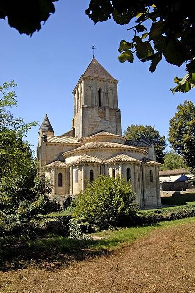 Photo du Monument Historique Eglise Saint-Hilaire situé à Melle