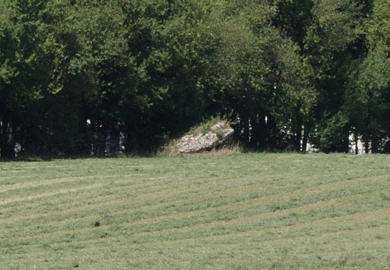 Photo du Monument Historique Dolmen dit de la Croisonnière situé à Nanteuil