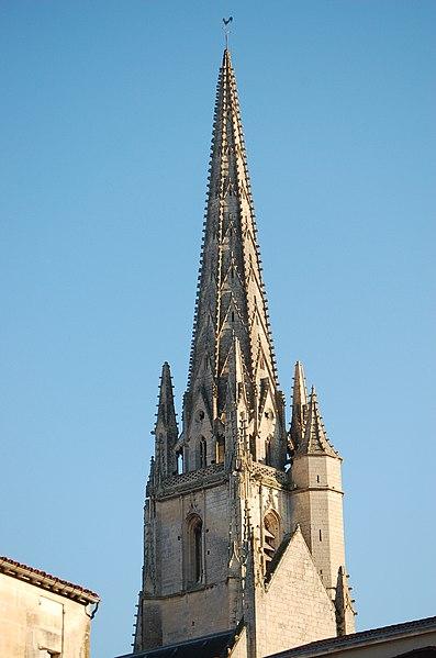 Photo du Monument Historique Eglise Notre-Dame situé à Niort