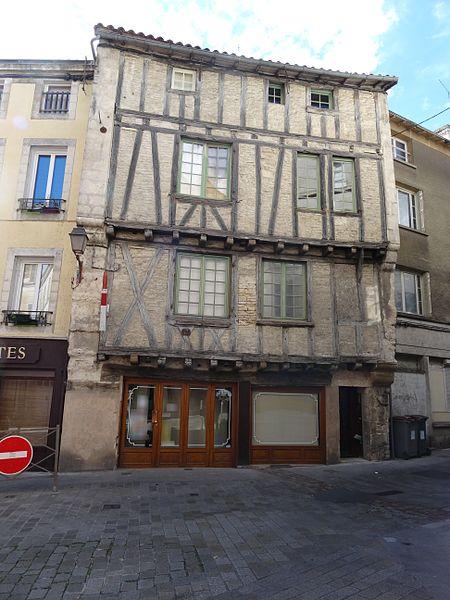 Photo du Monument Historique Maison situé à Niort