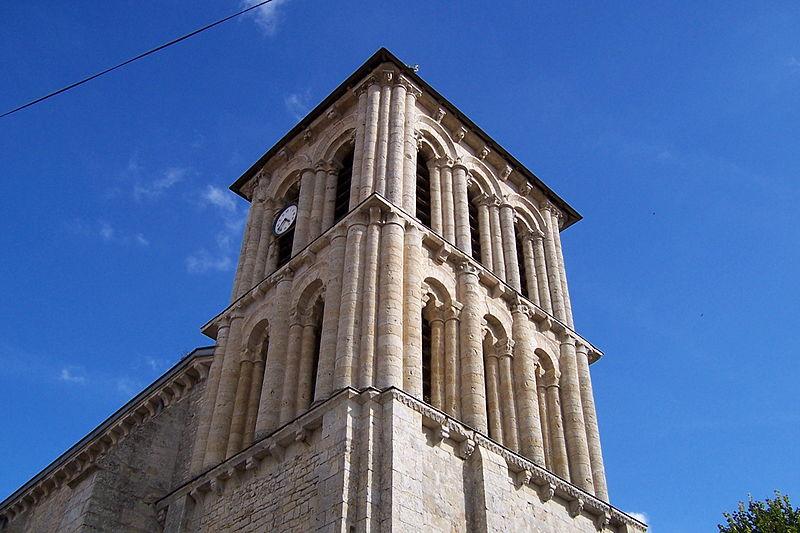 Photo du Monument Historique Eglise Saint-Maixent situé à Pamproux