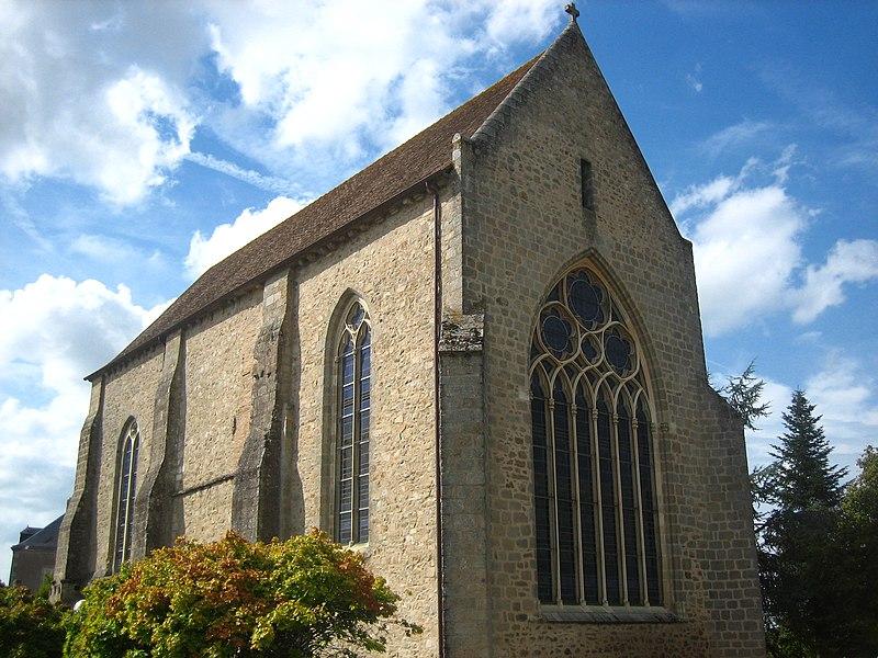 Photo du Monument Historique Ancienne chapelle des Cordeliers situé à Parthenay