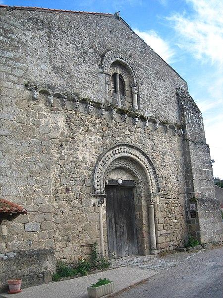 Photo du Monument Historique Ancienne église Saint-Paul situé à Parthenay