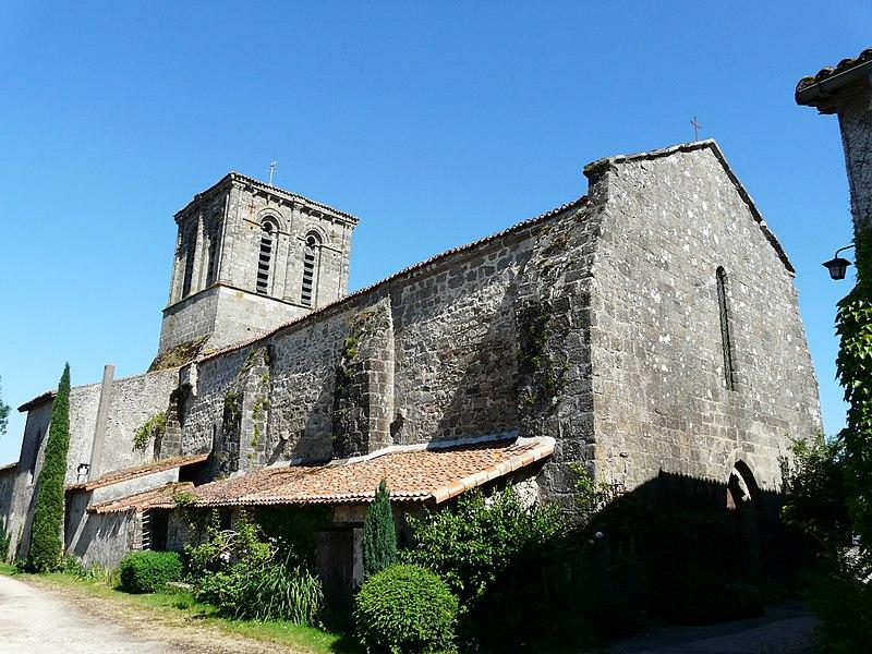 Photo du Monument Historique Eglise Notre-Dame situé à La Peyratte