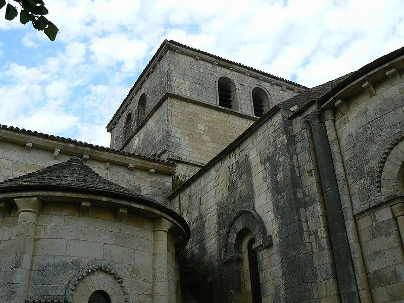 Photo du Monument Historique Eglise Saint-Gélais situé à Saint-Gelais