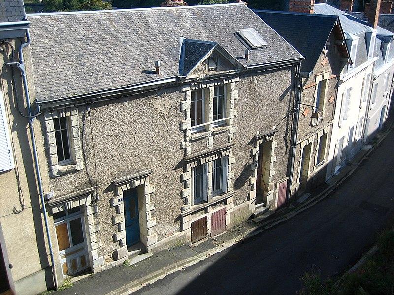 Photo du Monument Historique Immeuble situé à Thouars