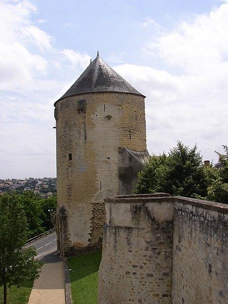 Photo du Monument Historique Tour du Prince-de-Galles situé à Thouars