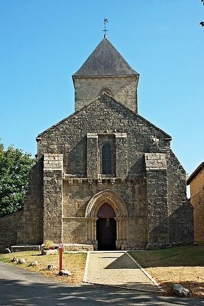 Photo du Monument Historique Eglise Saint-Martin situé à Vançais