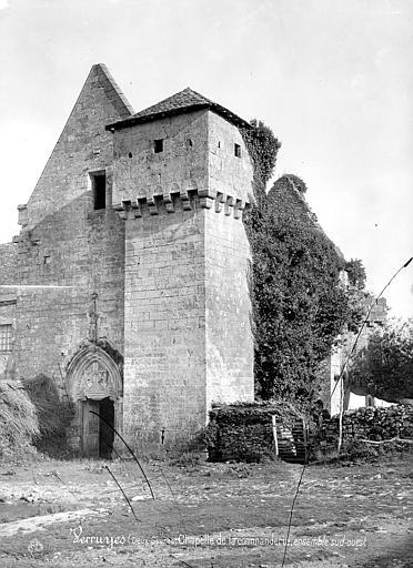 Photo du Monument Historique Commanderie situé à Verruyes