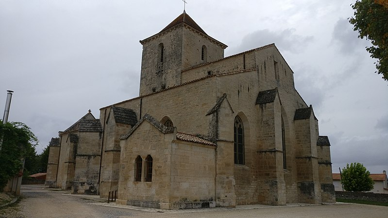 Photo du Monument Historique Eglise Notre-Dame situé à Vouillé