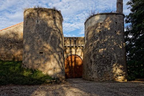 Photo du Monument Historique Château de Piogé situé à Availles-Thouarsais
