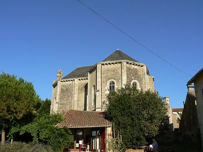 Photo du Monument Historique Temple protestant situé à Souvigné