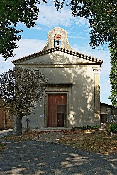 Photo du Monument Historique Temple protestant situé à Vançais