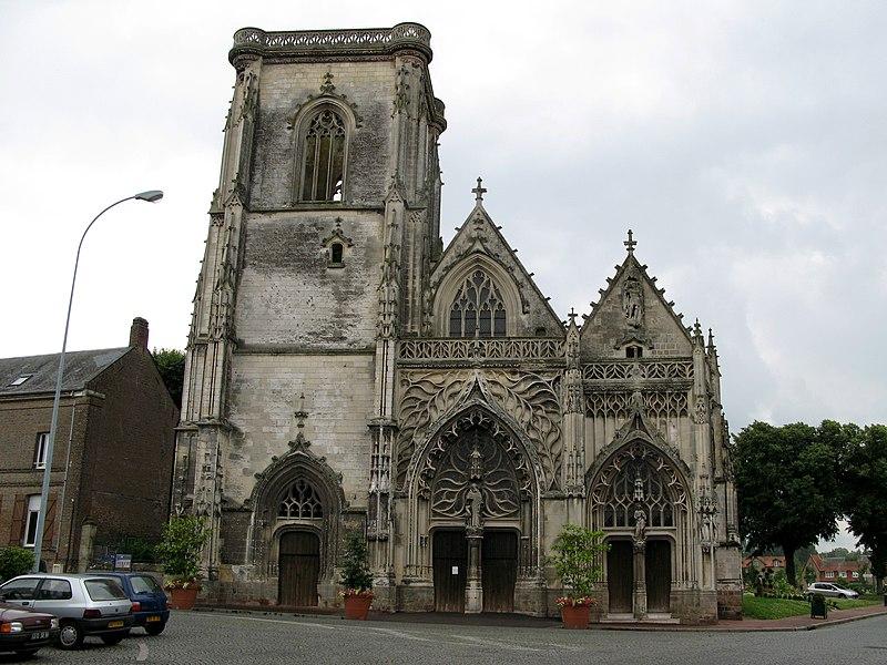 Photo du Monument Historique Eglise Saint-Gilles situé à Abbeville