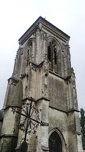 Photo du Monument Historique Eglise Notre-Dame-de-la-Chapelle situé à Abbeville