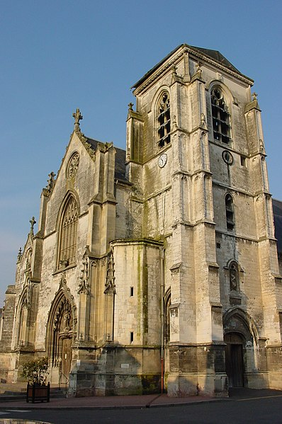 Photo du Monument Historique Eglise du Saint-Sépulcre situé à Abbeville