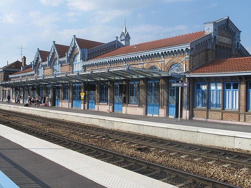 Photo du Monument Historique Gare situé à Abbeville