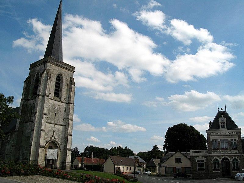 Photo du Monument Historique Eglise de l'Assomption situé à Ailly-le-Haut-Clocher