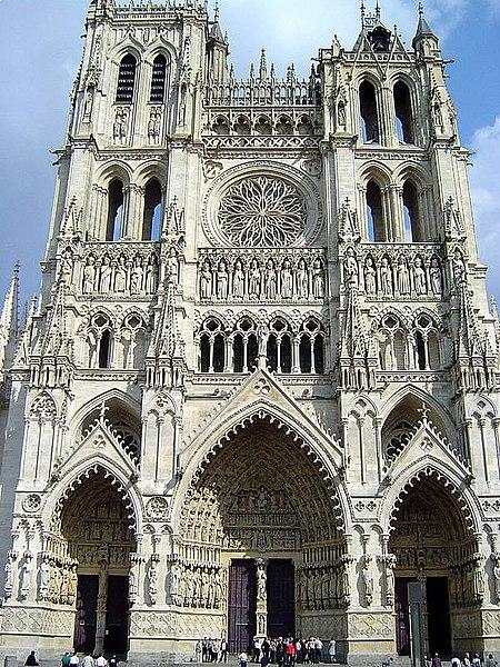 Photo du Monument Historique Cathédrale Notre-Dame situé à Amiens