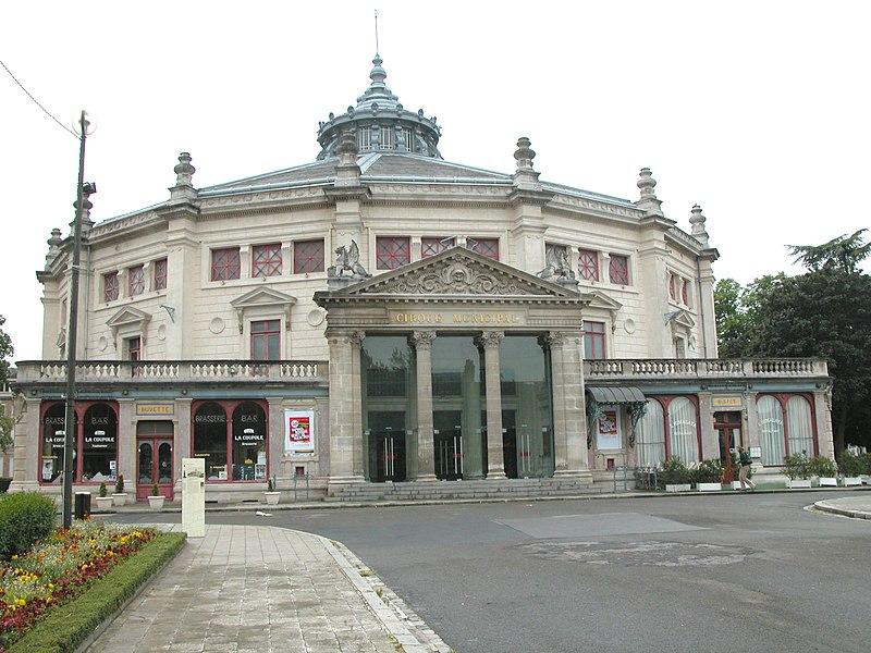 Photo du Monument Historique Cirque municipal situé à Amiens