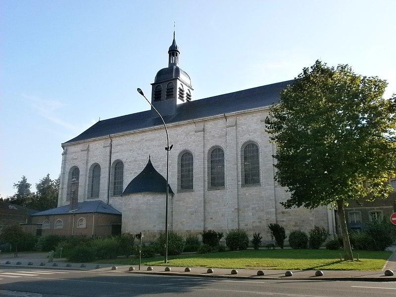 Photo du Monument Historique Eglise Saint-Acheul situé à Amiens
