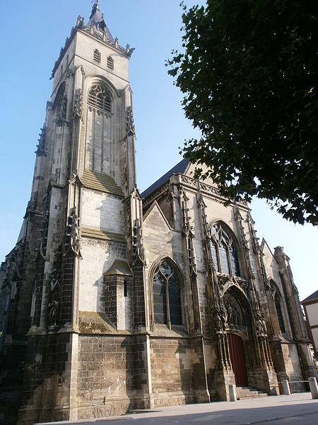 Photo du Monument Historique Eglise Saint-Germain-l'Ecossais situé à Amiens