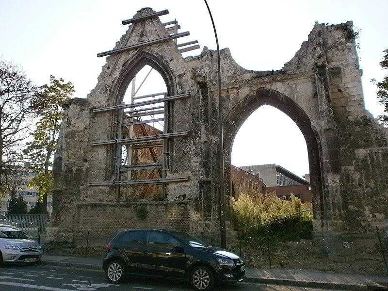Photo du Monument Historique Hôtel Dieu situé à Amiens