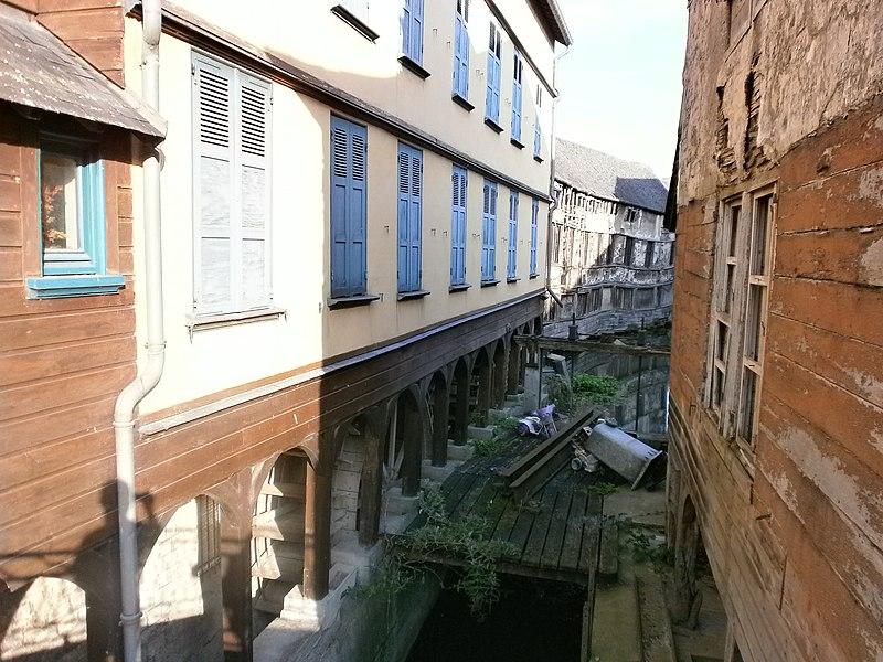 Photo du Monument Historique Moulin Passe-Arrière situé à Amiens
