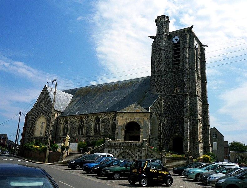 Photo du Monument Historique Eglise Saint-Pierre situé à Ault