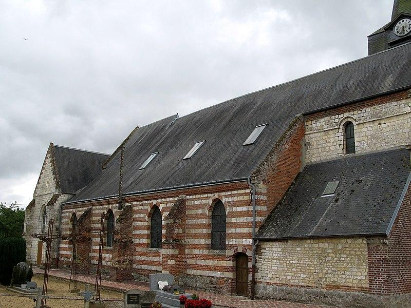 Photo du Monument Historique Eglise situé à Beaufort-en-Santerre