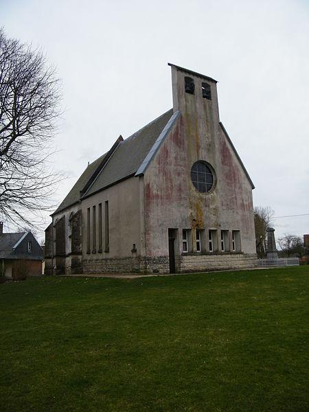 Photo du Monument Historique Eglise situé à Béhen