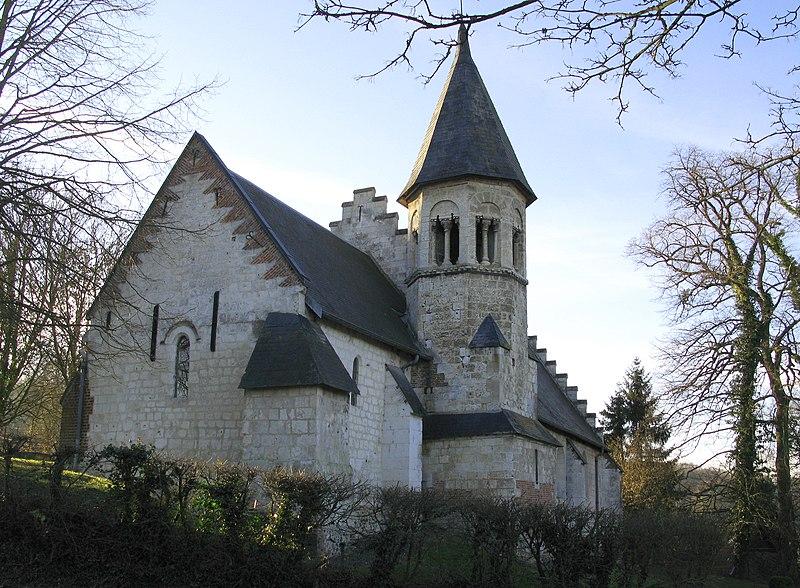 Photo du Monument Historique Eglise situé à Blangy-sous-Poix