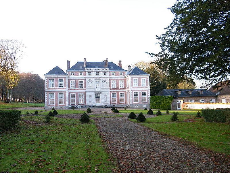 Photo du Monument Historique Château situé à Brailly-Cornehotte