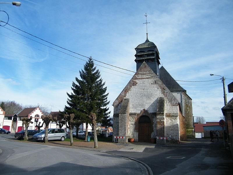 Photo du Monument Historique Eglise situé à Cambron