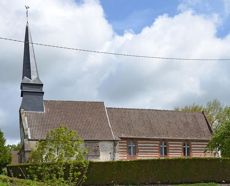 Photo du Monument Historique Eglise de l'Heure situé à Caours