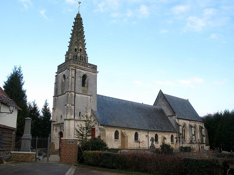 Photo du Monument Historique Eglise situé à Cocquerel