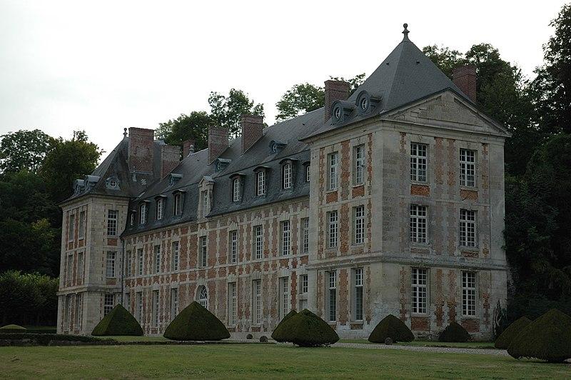 Photo du Monument Historique Château de Wailly situé à Conty