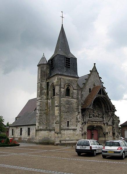 Photo du Monument Historique Eglise Notre-Dame de l'Assomption situé à Corbie