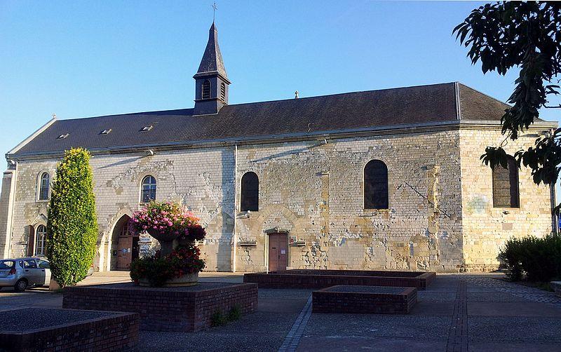 Photo du Monument Historique Ancienne église collégiale Saint-Etienne situé à Corbie