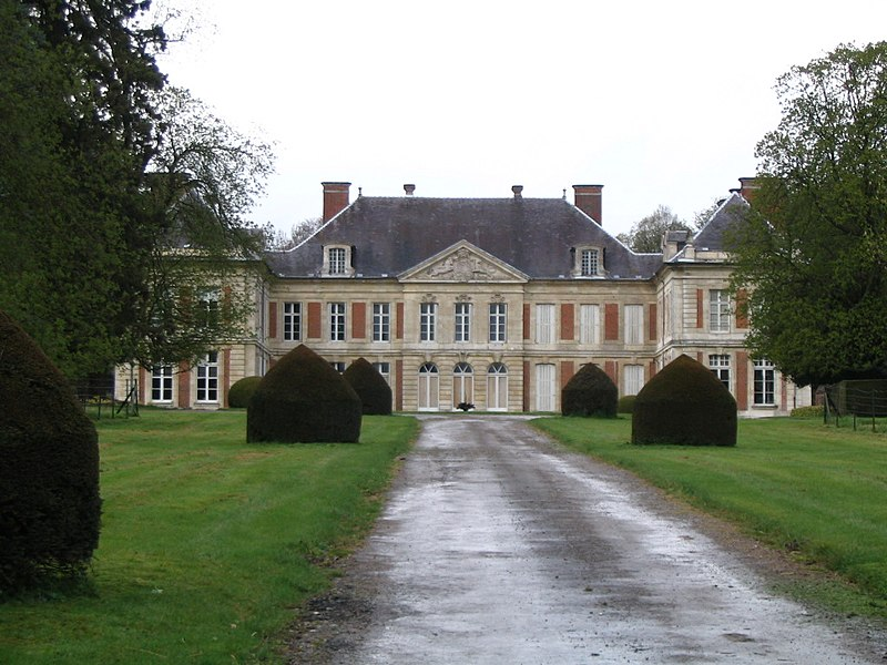 Photo du Monument Historique Château situé à Courcelles-sous-Moyencourt
