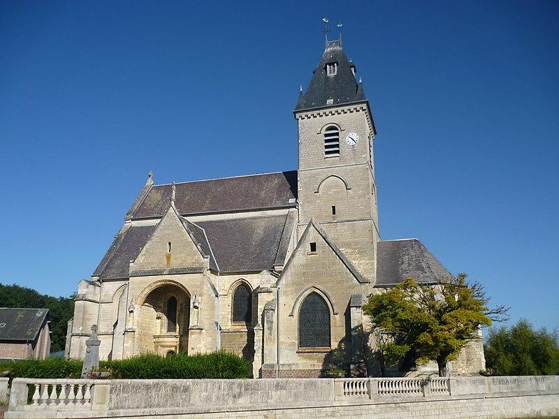 Photo du Monument Historique Eglise Saint-Médard situé à Croix-Moligneaux