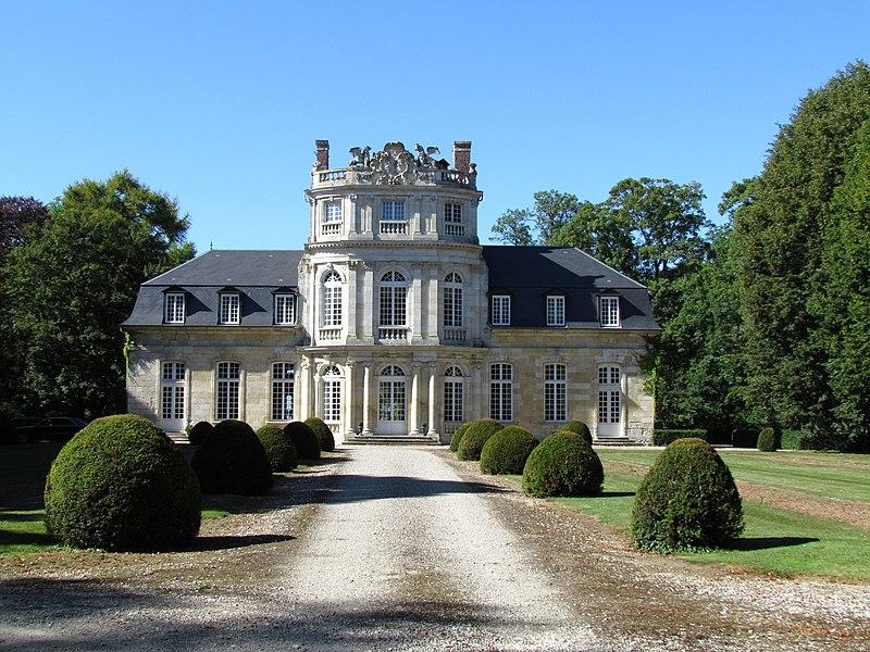 Photo du Monument Historique Château d'Essertaux situé à Essertaux