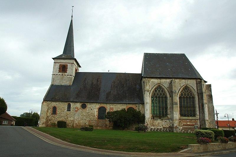 Photo du Monument Historique Eglise situé à Feuquières-en-Vimeu