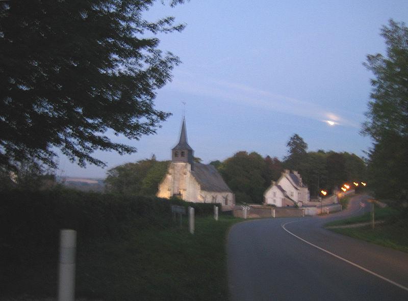 Photo du Monument Historique Eglise de Vieulaines situé à Fontaine-sur-Somme