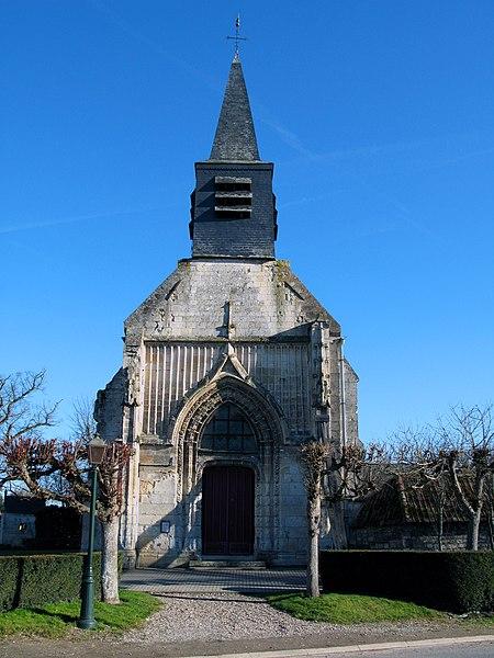 Photo du Monument Historique Eglise Saint-Pierre situé à Frémontiers