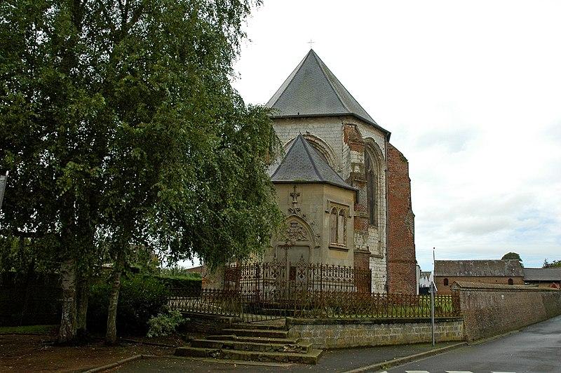 Photo du Monument Historique Eglise situé à Friville-Escarbotin
