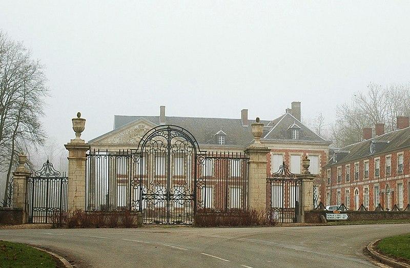 Photo du Monument Historique Château situé à Hénencourt