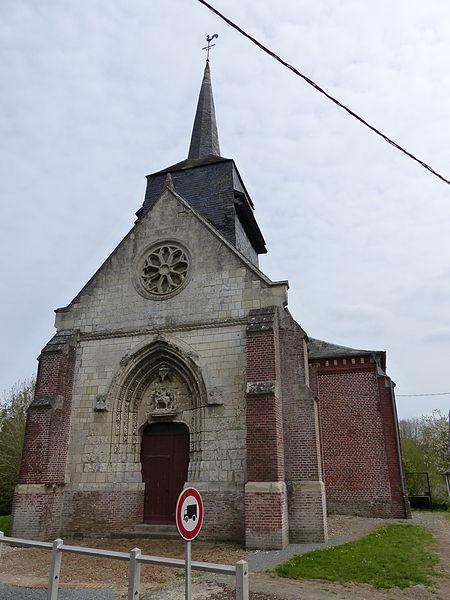 Photo du Monument Historique Eglise Saint-Martin situé à Hescamps